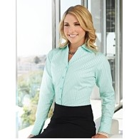 Women's Lilac Bloom® Taylor Striped Dress Shirt