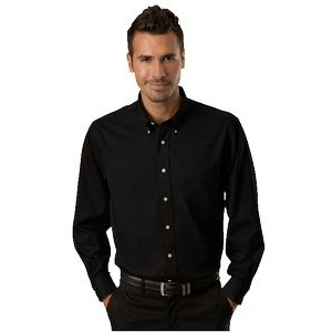 Van Heusen Easy-Care Dress Twill Long Sleeve Shirt