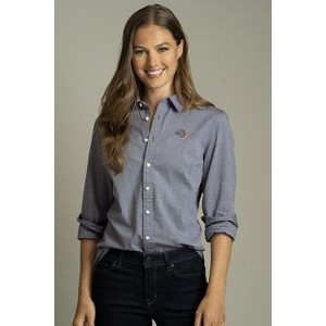 Women's Tommy Hilfiger® Chambray Button-Down Shirt